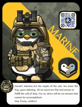 |M.A.M.U| - Penguin Pilot, Marine Class by FrostKnight-IcE