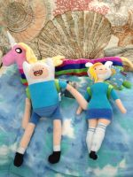 My Adventure Time Plushies by IronBatMaiden91