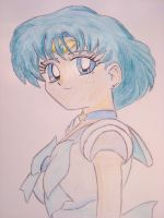 Sailor Mercury Coloured by F-Stormer-3000
