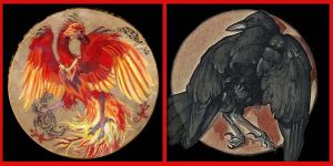 Pheonix Diptych by Shadowind