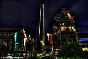 Steel and Lights IV HDR by xMAXIx