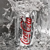 diet coca cola by SaphoPhotographics