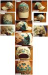 Super Junior custom hat by Blazesnbreezes