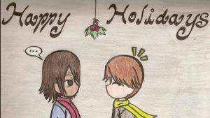 Happy Holidays From Noah, Cody by Kiku-No-Hoshi-XD
