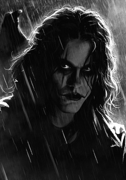 Eric Draven - The Crow by SamRAW08