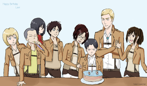 Happy Birthday, Levi by Aoi-nikkou