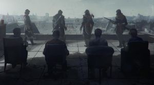 Assassin's Creed Unity Commercial Key Art by WestStudio