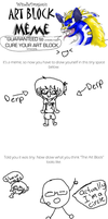 Art Block Meme (I just had to do it XD) by TheDrawingManga