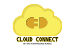 Cloud Connect Final Logo with tagline by sundaedash