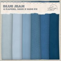 Blue Jean paper pack by Eijaite