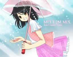 Cover for MELT 2M MIX by Na-Nami