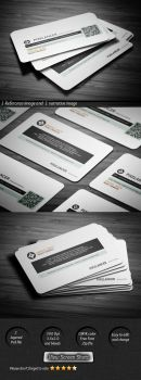 Pixelancer corporate business card by calwincalwin