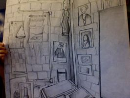The Classroom Corner by GrimKreaper