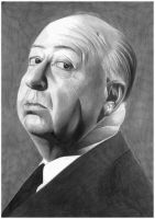 Alfred Hitchcock by donchild