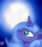 The moon princess by AsDeViles
