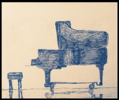 Piano of the day by MagicVirgule