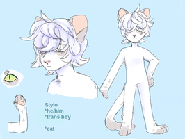 Stylo ref by wraithcanid