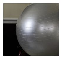 exercise ball at rest by MarcCopeland