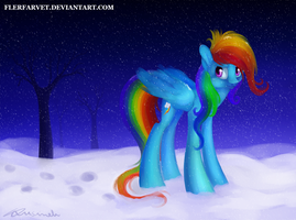 Winter wrap up didn't work by flerfarvet