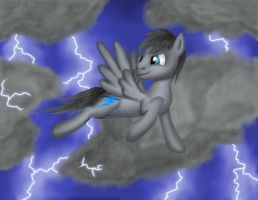 Bolt in the sky colored by AKShooter