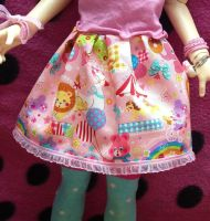 For sale: PASTELHARU ~Pet Carnival~ skirt by Toraiji
