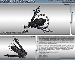 Great Space Race - Antares Colony by TurinuZ