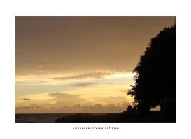 Sunset At Tahuna by farlydapamanis