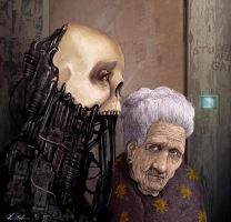 granny and the biomech by lemuren