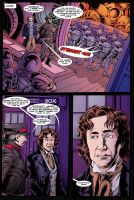 Doctor Who: Fade Away pg 5 by PaulHanley