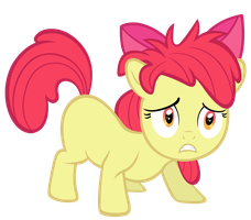 Bed Haired Applebloom by SpikesMustache