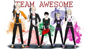Team Awesome by nautilus-deepbluesea