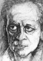 Actor Klaus Kinski by LevonHackensaw
