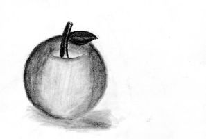 A simple apple by SoSpian