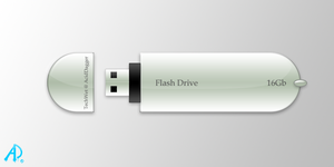 Flash Drive by aciddagger