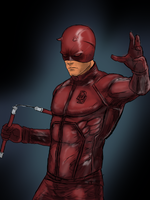 Daredevil Movie Outfit by NiteOwl94