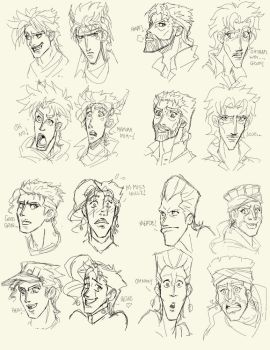 Disney Jojos by pirateneko