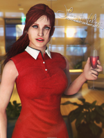 Claire Redfield by JhonyHebert