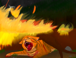 *Spoilers* Firestar's Death by DemonicMemes