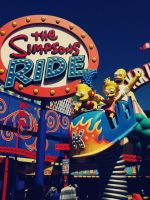 Simpsons Ride on Universal Studios Hollywood by Beremod