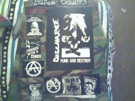 my punk vest by armoraxer69