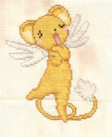 Kero Cross stitch by lucky-meryl
