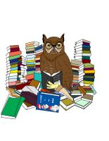 Book Owl by D-simmo