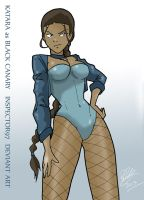 Katara as Black Canary by Inspector97