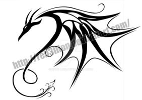 Dragon Tattoo concept by Reb3llion