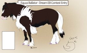 Dream Ballator Contest Entry by Inked-Owl