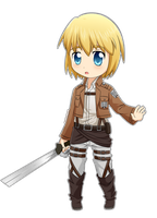 SnK: Armin by Kyoukouo