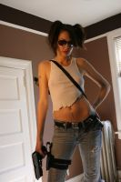 Shelly Zombie Hunter Stock 11 by KINGZOMBIE-STOCK