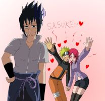 Uzumakis love sasuke by bocodamondo