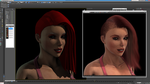 Scarlett Rose: Hair Farm Test 02 by grico316