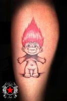 Troll tattoo by Robert-Greg-Voulgari